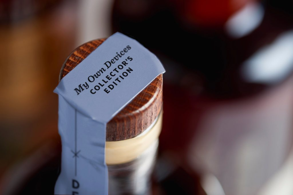 Dessa's Time and Distance Organic Bourbon Whiskey